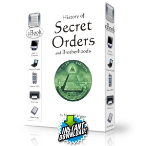 History of secret orders